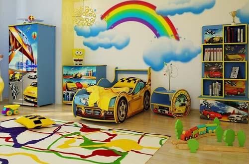 Возвращение в детство: интерьер детской комнаты (фото)