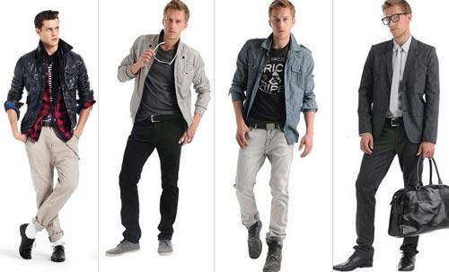 Выбор одежды для мужчин
