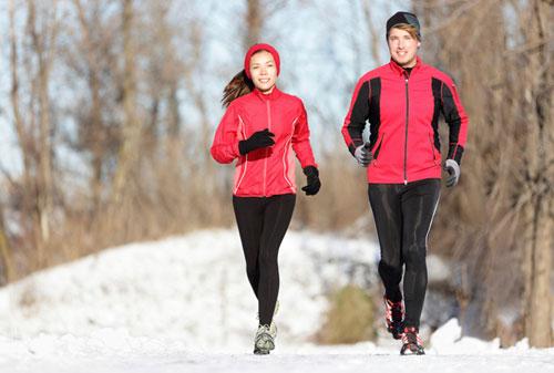Бег зимой польза или вред для организма