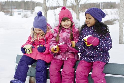 Правильная детская одежда для зимы