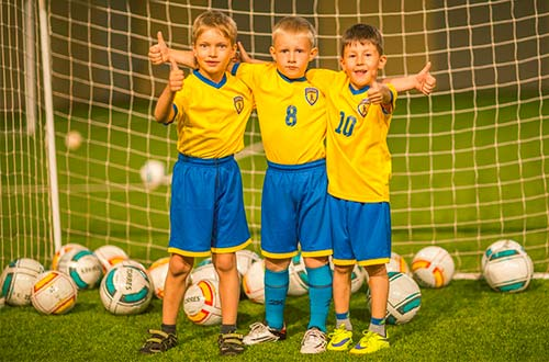 Экипировка юного футболиста