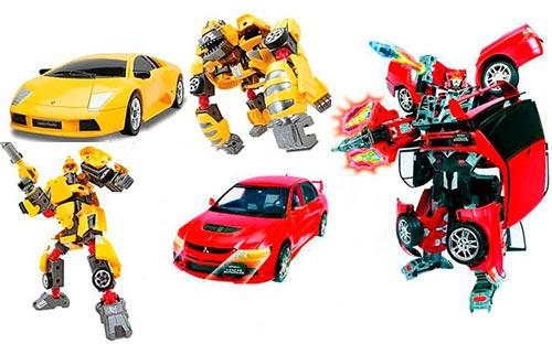 Популярные модели игрушечных трансформеров