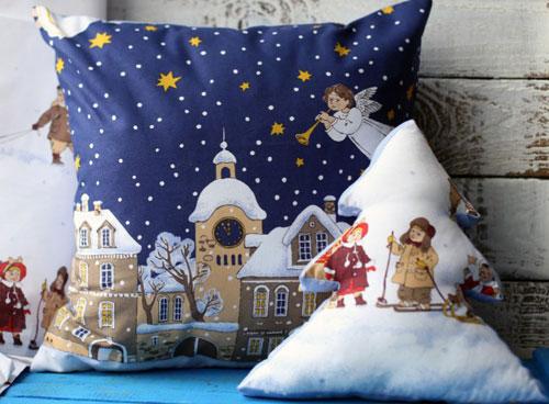 Как выбрать новогодние подушки