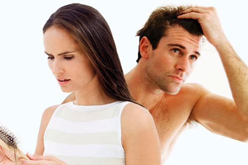 Нежелательное выпадение волос