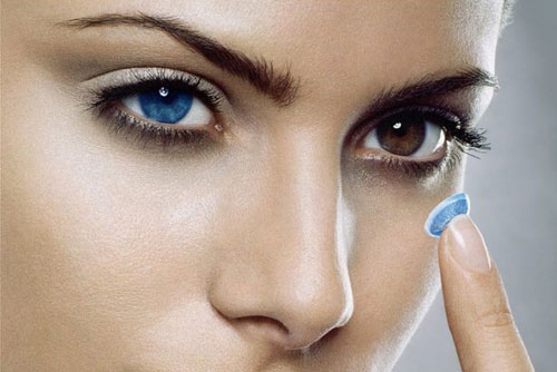 Как преобразить глаза с помощью цветных линз