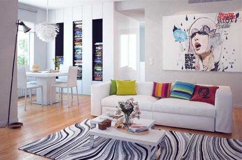 Современные стили в интерьере (фото)