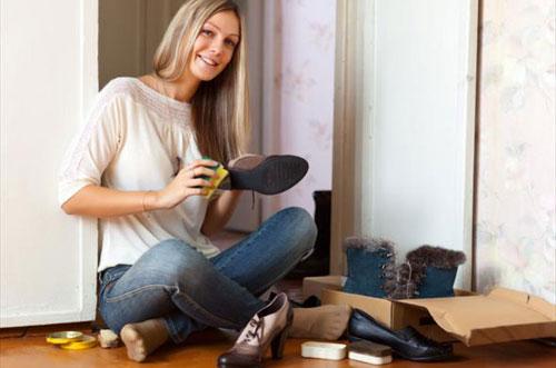 Советы по уходу за кожаной обувью