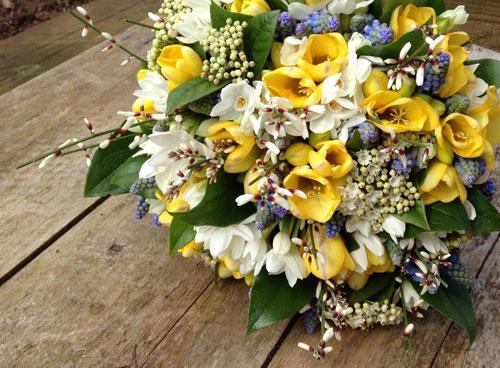 Весенние букеты цветов