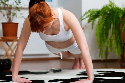 Занятия спортом в домашних условиях