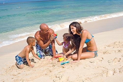 Здоровый отдых с семьей