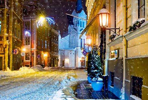 Что посмотреть в Риге зимой