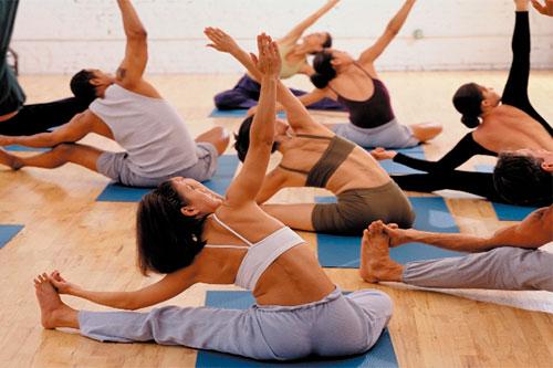 Групповые занятия стретчингом