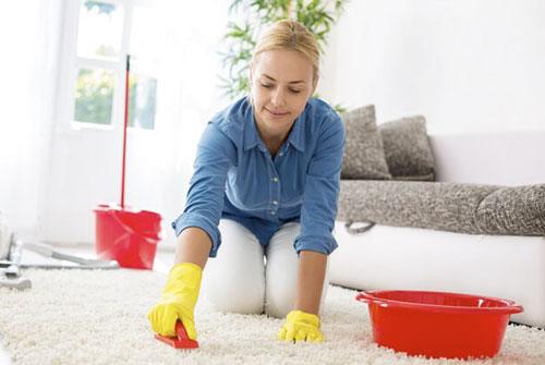 Как сделать чистку ковра дома