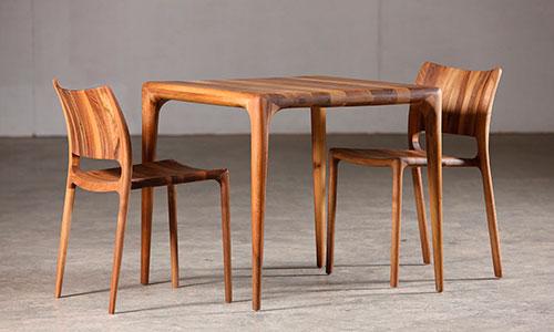 Красивая мебель из массива