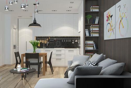 Несколько дизайнерских идей для улучшения восприятия даже самой маленькой квартиры