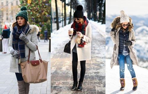 Как одеваться тепло и красиво зимой