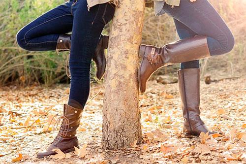Осенние сапоги: тепло, красиво и сексуально