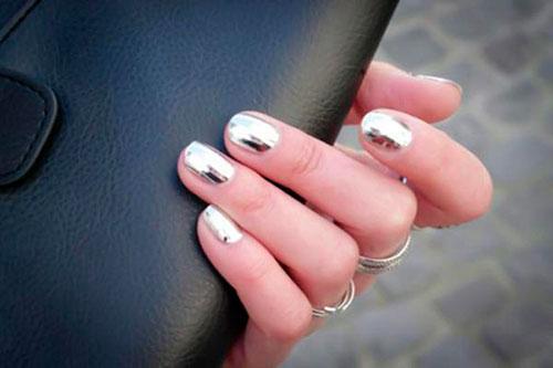 Правила нанесения зеркального лака на ногти