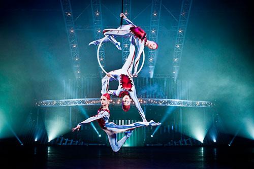 Удивительные представления Цирка дю Солей в Сочи