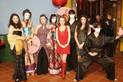 Cоставляющие оригинальной вечеринки в японском стиле