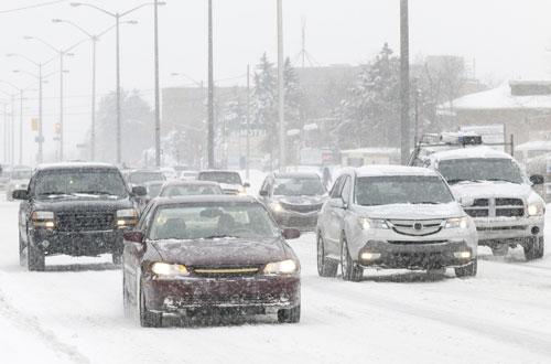 Вождение зимой: важные нюансы