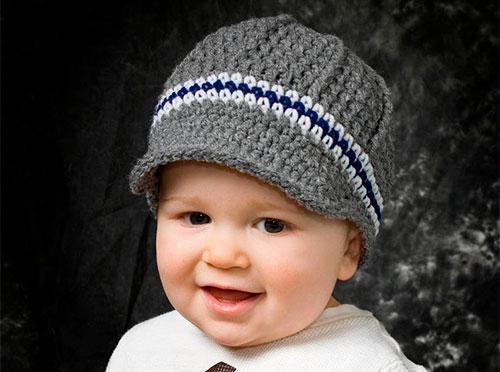 шапки для мальчика