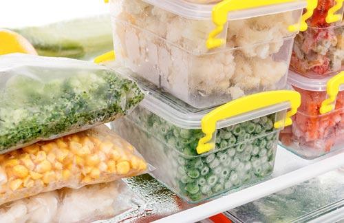 Как правильно хранить замороженные продукты
