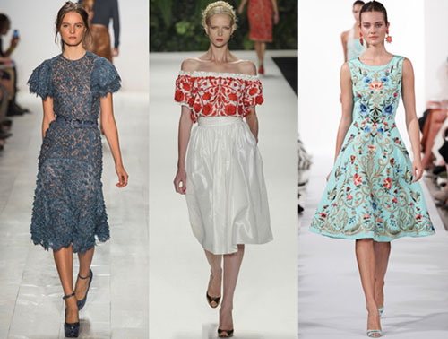 Модные платья разных фасонов для лета