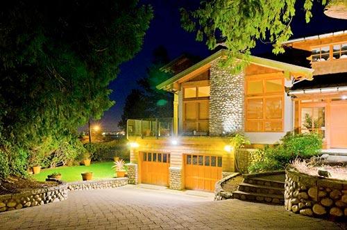 Создаем освещение загородного дома
