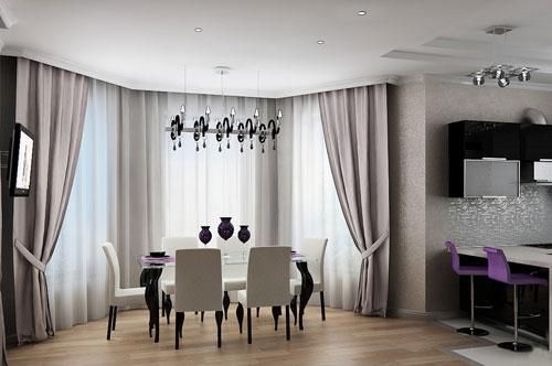 Столовая в доме или квартире