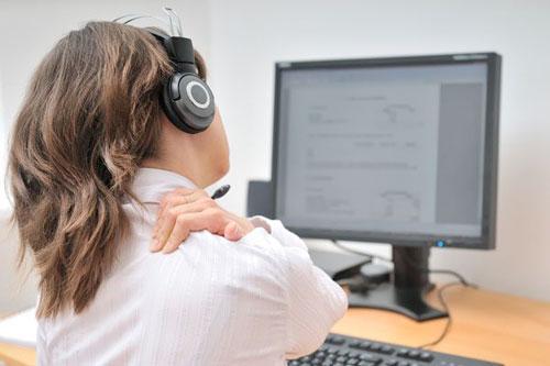 Как сохранить здоровье при работе за компьютером