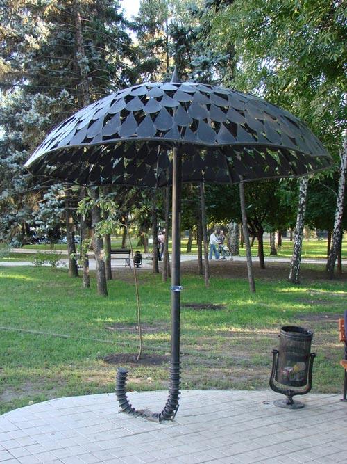 Зонт из металла своими руками