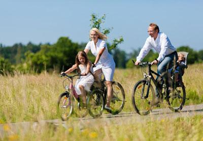 В чем польза велопрогулок?