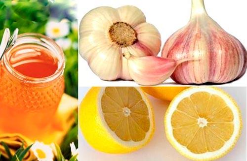 мед и чеснок от паразитов