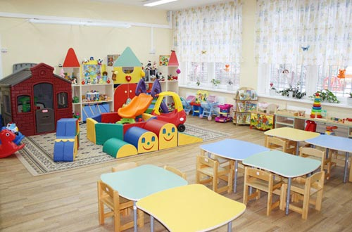 как украсить группу в детском саду