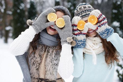 Как насытить организм витаминами зимой