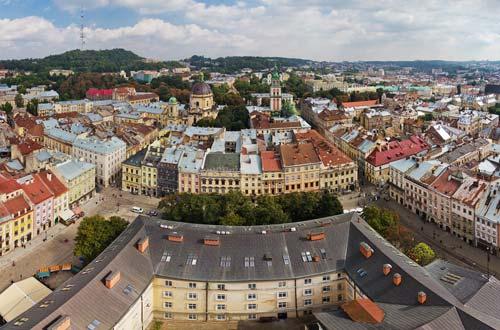 Львів з висоти (фото)