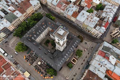 Львів з висоти