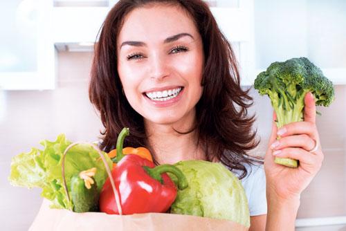 Особый уход за зубами для вегетарианцев