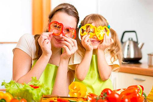стихи о здоровом питании для детей надпись