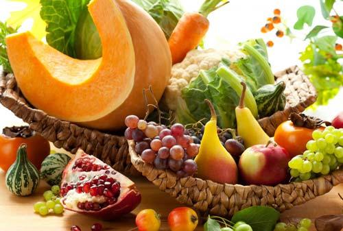 Здоровые продукты для осени