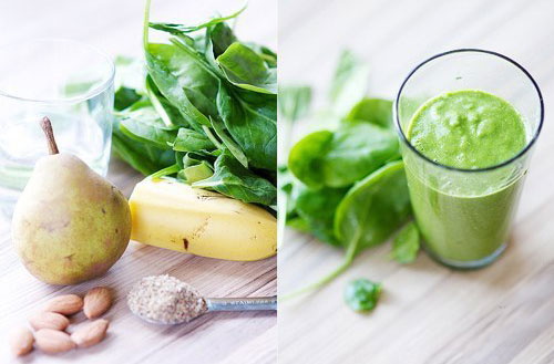 простые рецепты зеленого коктейля
